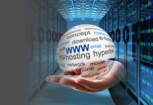 Hosting Hand Server Centre V2M