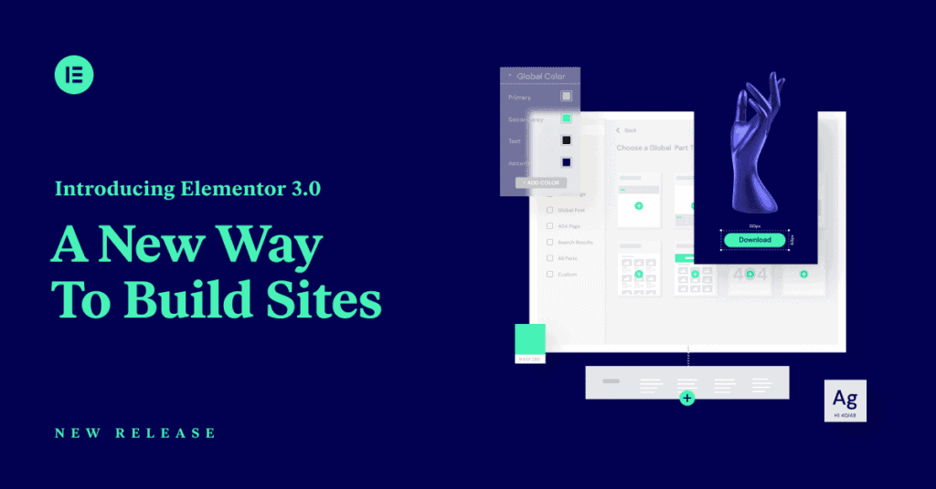 Elementor 3 - a new way to build websites